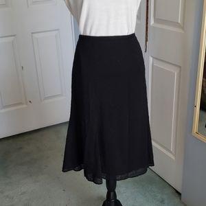 🛍🛍💥Black eyelet skirt Size 18